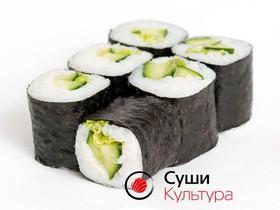 Ролл огурец-салат - Фото