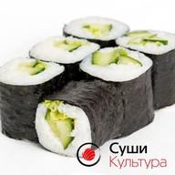 Ролл огурец-салат Фото