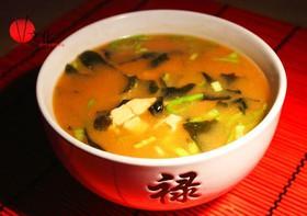 Мисо-суп с лососем - Фото