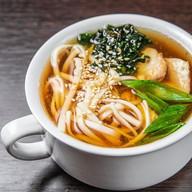 Удон с курицей суп Фото