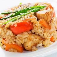 Рис с курочкой Фото