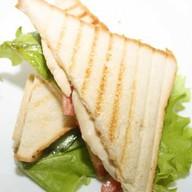 Сэндвич с куриным филе Фото