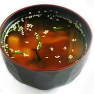 Мисо суп с мидиями Фото