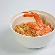 Рис, жаренный с креветкой Фото