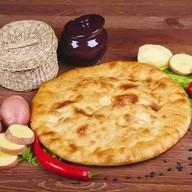 Пирог с картошкой (постный) Фото