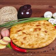 Пирог с картошкой,грибами,луком(постный) Фото