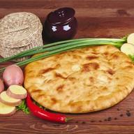 Пирог с картошкой и луком (постный) Фото