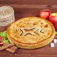 Осетинский пирог с яблоками и корицей Фото