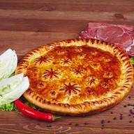 Пирог с мясом и капустой Фото