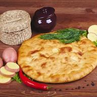 Пирог с картошкой и укропом (постный) Фото