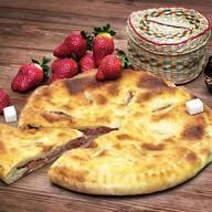 Пирог с клубникой (постный) Фото