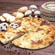 Осетинский пирог с картошкой и грибами Фото