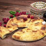 Осетинский пирог с малиной Фото