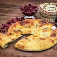 Пирог с вишней (постный) Фото