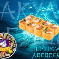 Тортуга с лососем Фото