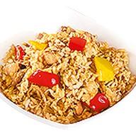 Тяхан рис с курицей Фото