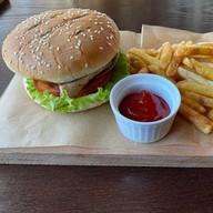 Пулдмит бургер со свининой Фото