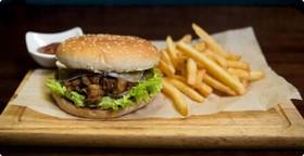 Пулдмит бургер со свининой - Фото