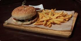 Бургер с цыпленком - Фото