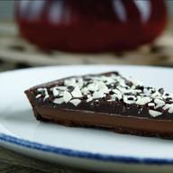 Торт шоколадно-карамельный Фото