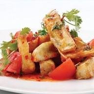 Паназиатский салат из баклажанов Фото