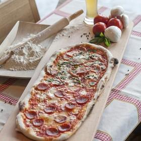 Полуметровая пицца - Фото