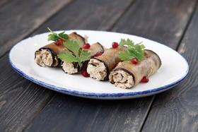 Баклажаны с орехами и чесноком - Фото