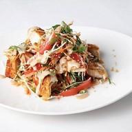Китайский салат с цыпленком Фото