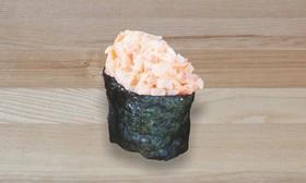 Спайси суши с тигровой креветкой - Фото