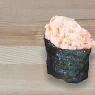 Спайси суши с тигровой креветкой Фото