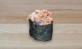 Спайси суши с копчёным угрем - Фото