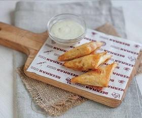 Хрустящие сырные конверты - Фото