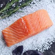 Стейк из лосося Фото