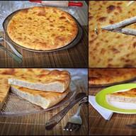 Пирог с картофелем, фаршем и сыром Фото