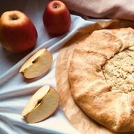 Яблочная галета (постный) Фото