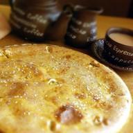 Пирог с красной рыбой, сыром и укропом Фото