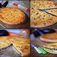 Пирог с бараниной и овощами Фото