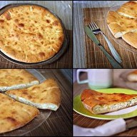 Сырный пирог Фото