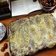 Финиковый десерт с карамелью Фото