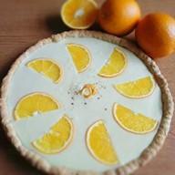 Апельсиновая кростата Фото
