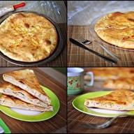 Пирог с курицей и адыгейским сыром Фото
