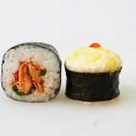 Запечённый с лососем в сырном соусе Фото