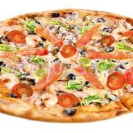 Пицца Frutti di mare, пицца Bolog Фото
