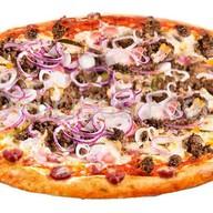 Пицца Macho, пицца Аlla pollo, па Фото