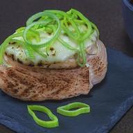 Якета сакана с плавленым сыром Фото