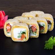 Темпура тортилья с копчёным лососем Фото