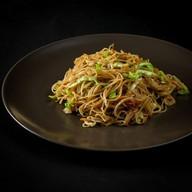 Вегетарианская рисовая лапша Фото