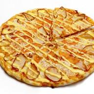 Пицца сырный цыпленок Фото