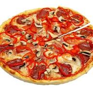 Пицца восходящее солнце Фото