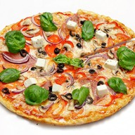 Пицца греческая Фото